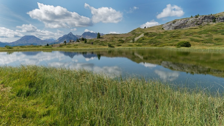 Le lac des Sarailles