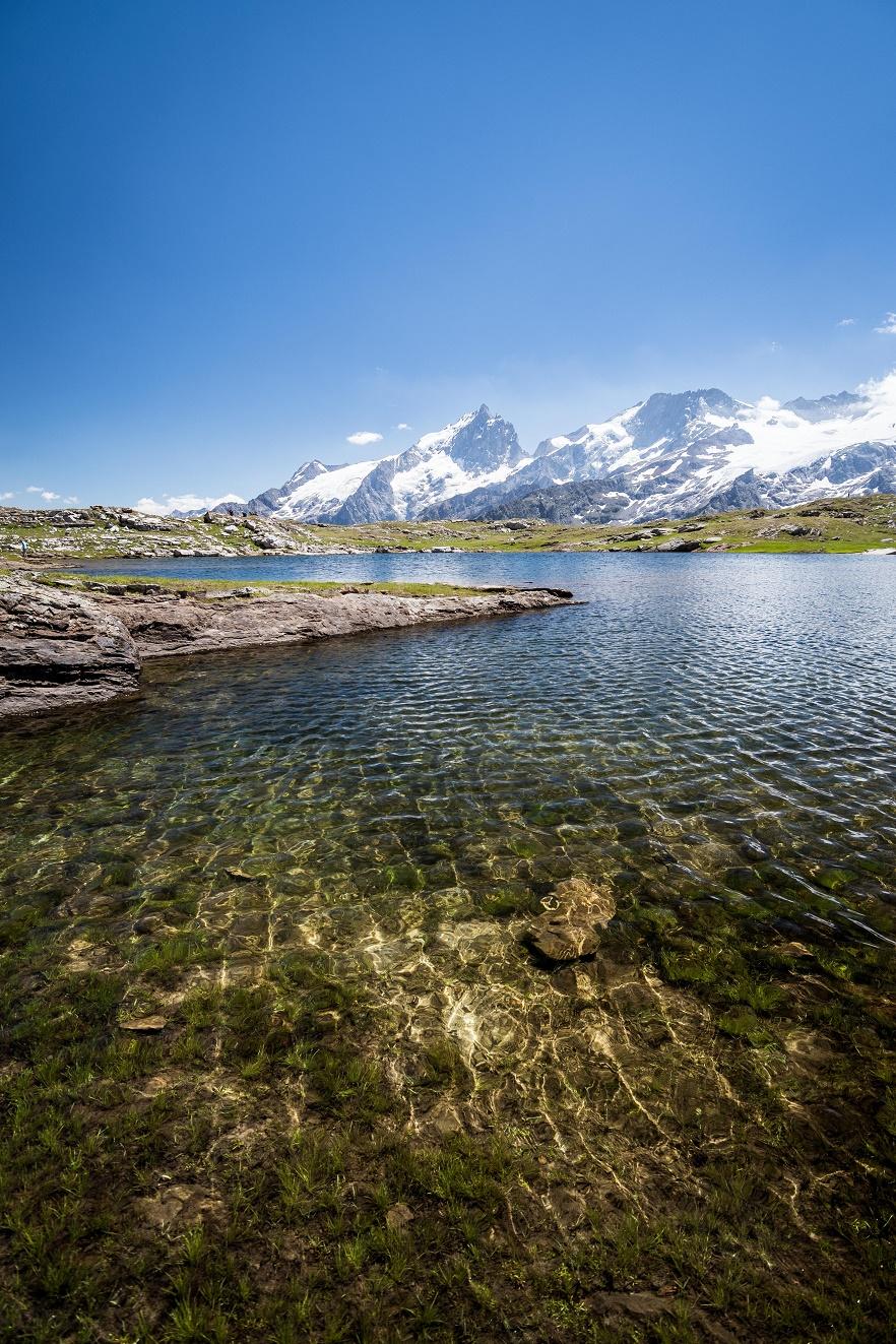 Lac noir, plateau d'Emparis