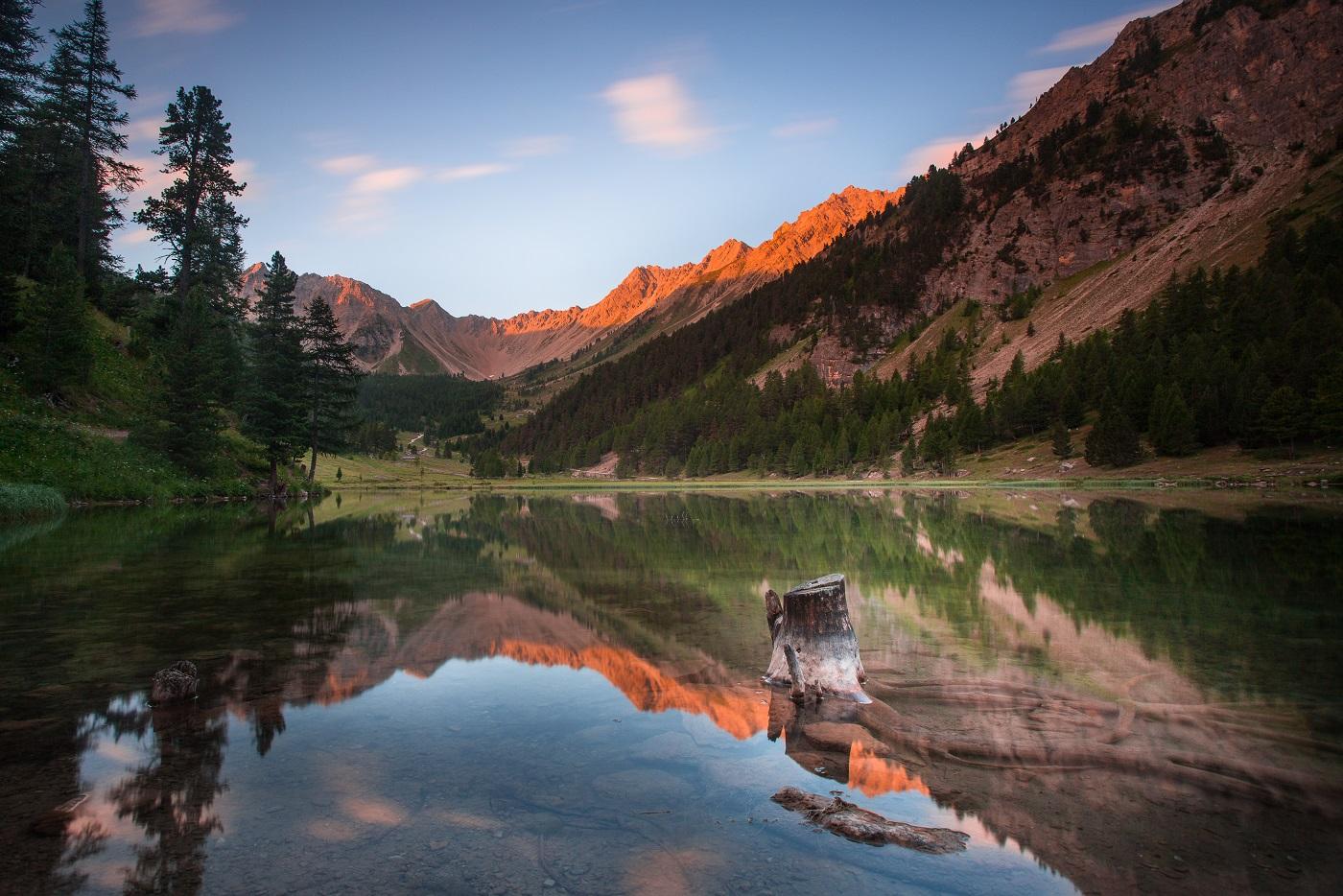 Lac de l'Orceyrette©Thibaut Blais