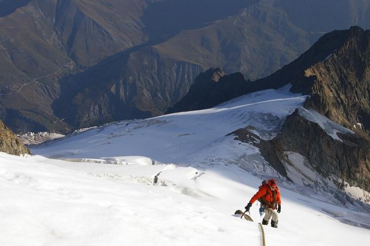 Glacier du Tabuchet ©A. Mielle