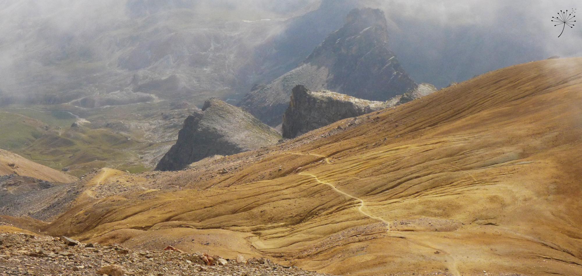 Mont Thabor - ligne de descente ©52/12 Traversée Déjantée