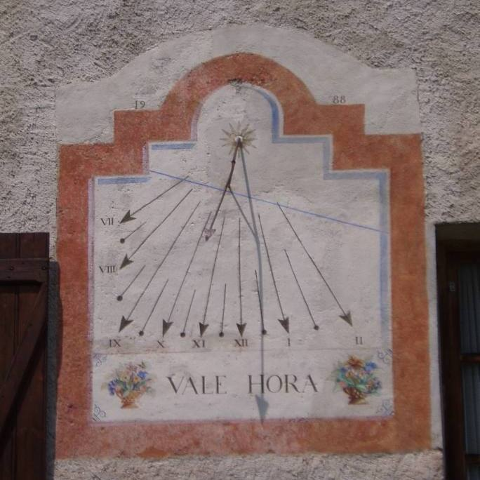 Cadran maison Maritau Nevache Ville Haute