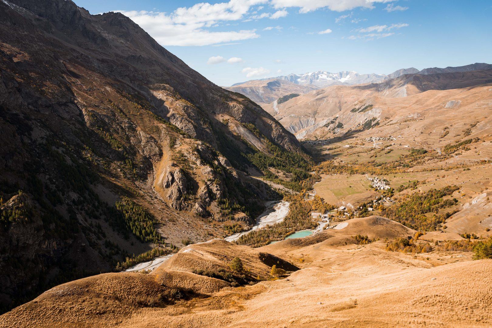 Sentier des Crevasses Parc national des Ecrins